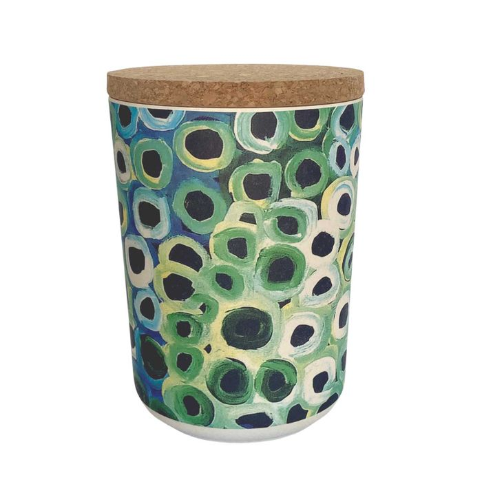 Bamboo Food Canister - Lena Pwerle