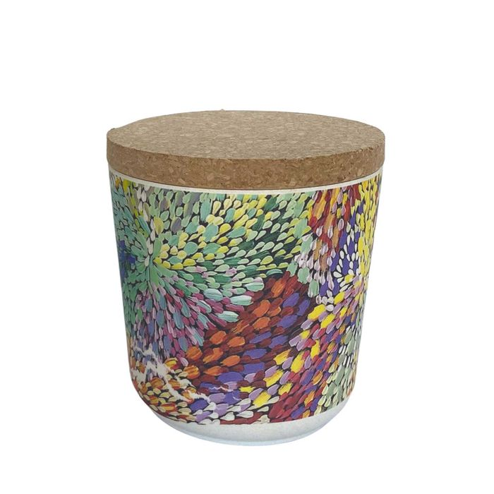 Bamboo Food Canister Small - Janelle Stockman
