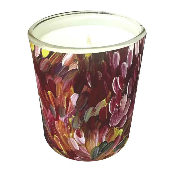 Natural Soy Wax Candle Gloria Petyarre