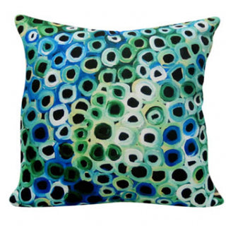 Cushion Cover Lena Pwerle - Green