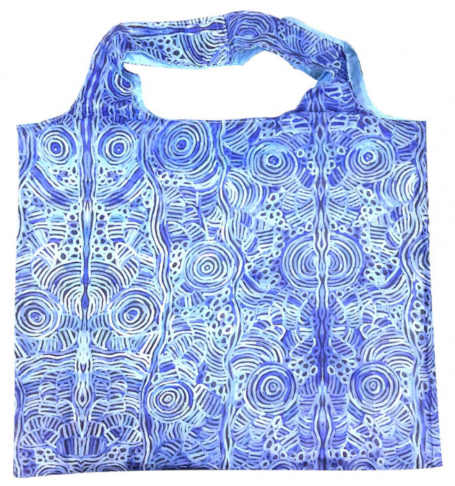 Foldable Shopping Bag Betty Mpetyane - Blue