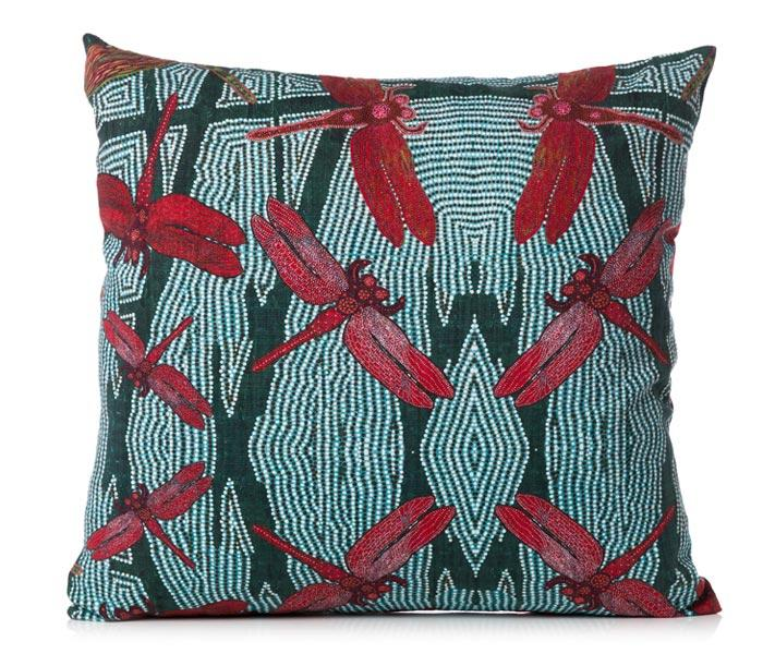 Cushion Cover Sheryl J Burchill  - Rainforest