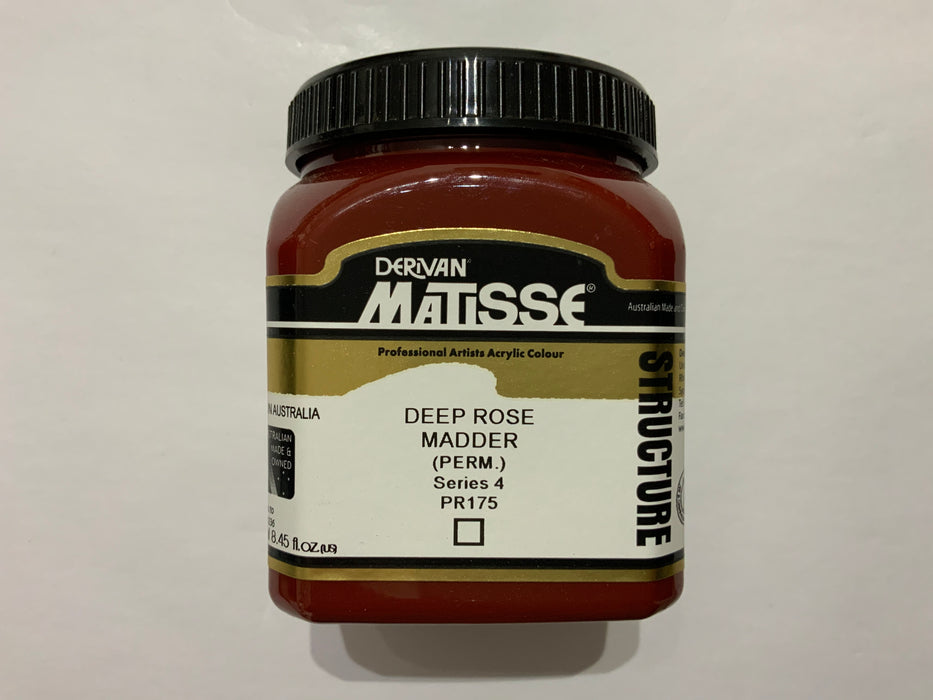 Matisse Acrylic Paint Deep Rose Madder (PERM)