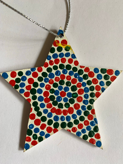 Hand Painted Decoration - Star
