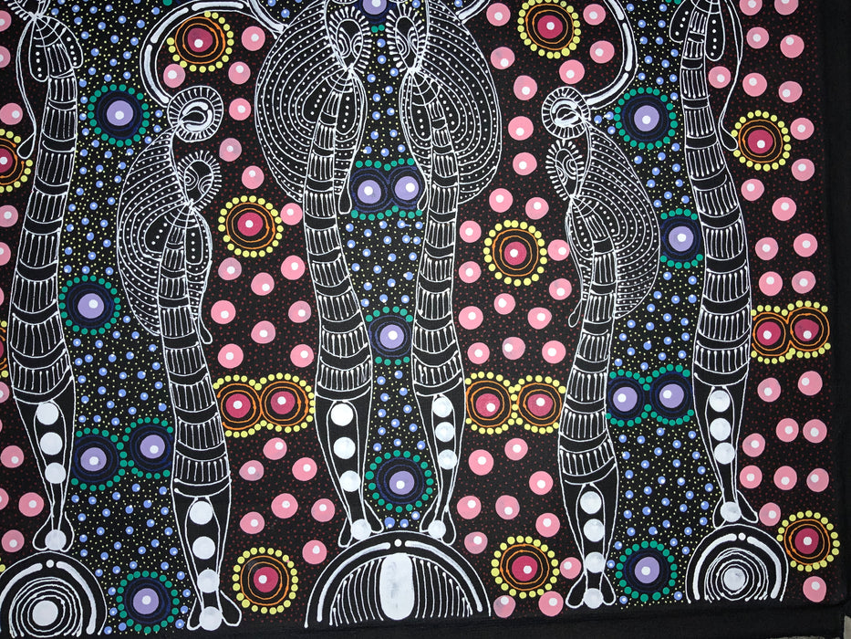 Colleen Wallace Nungarray - Dreamtime Sisters - 60x60cm .40