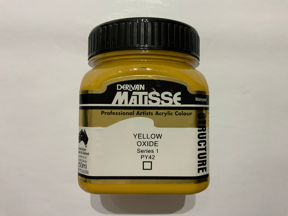 Matisse Acrylic Paint Yellow Oxide