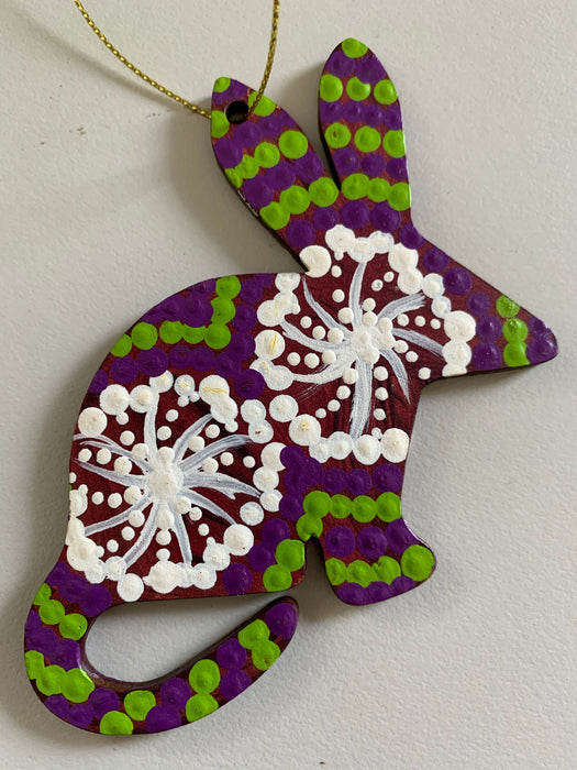Hand Painted Decoration - Bilby  .1