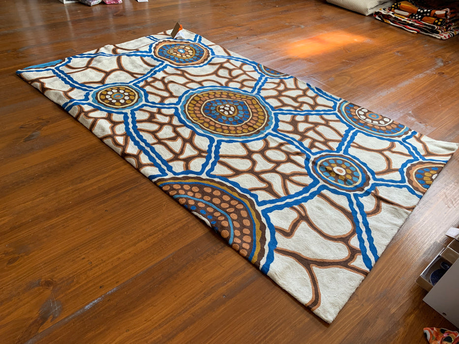 Chainstitch Rug Bianca Gardiner Dodd