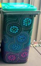 Bindigenous Green Bin Sticker Large