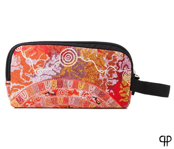 Neoprene Pencil Case Coral Hayes