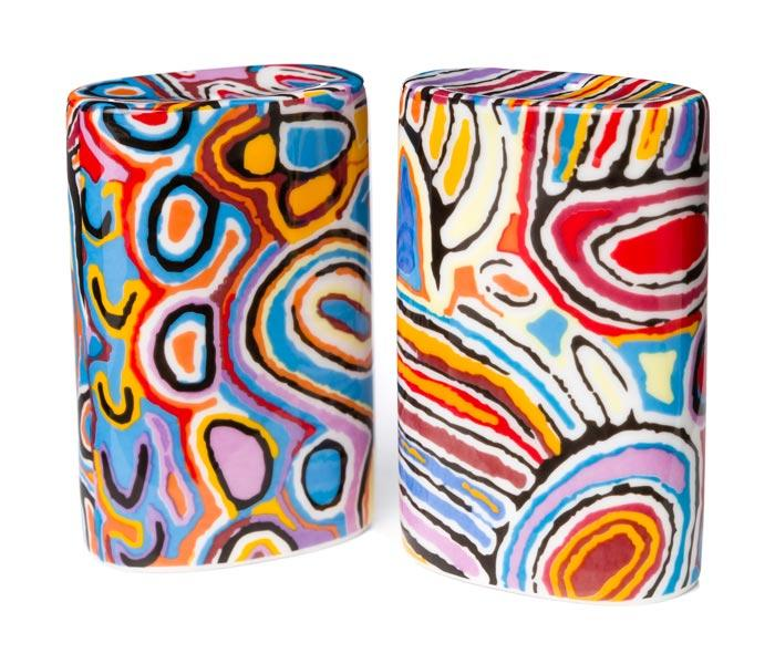 Salt & Pepper Shakers Judy Watson