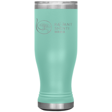 Load image into Gallery viewer, Keep your digestion moving and stay healthy by drinking warm water in Radiant Shenti's Boho 20 oz tumbler. Mint green