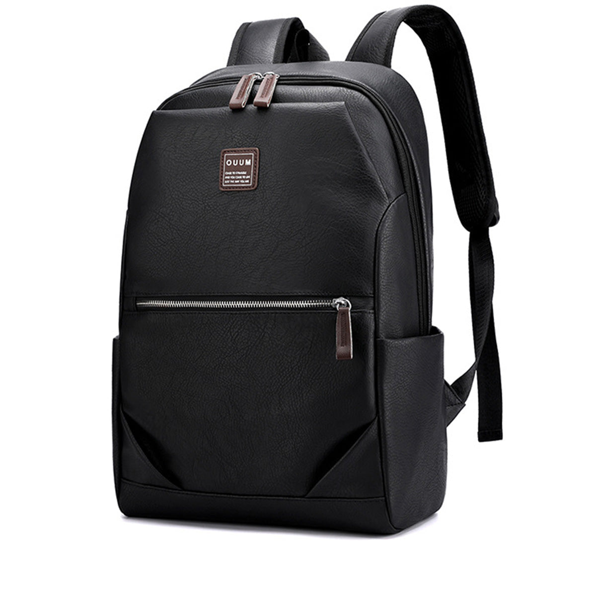 15.6 Inch Zipper PU Laptop Bag Business Travel Portable Men's Briefcases Messenger Documents Handbags