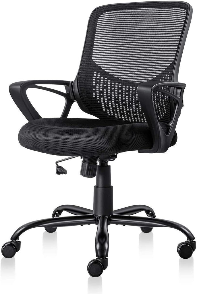 Office Chair Ergonomic Desk Chair Computer Task Chair Mesh with Armrests Mid Back for Home Office Conference Study Room