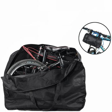 "20"" Travel Bike Bag Carry Transport Case Mountain Road Bicycle Luggage Storage"