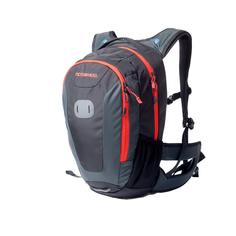 ROSWHEEL 18L 420D Bicycle Rucksack Multifunctional Outdoor Backpack Bike Cycling Riding Sports Bag