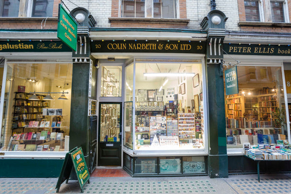 Cecil court medal shop, London