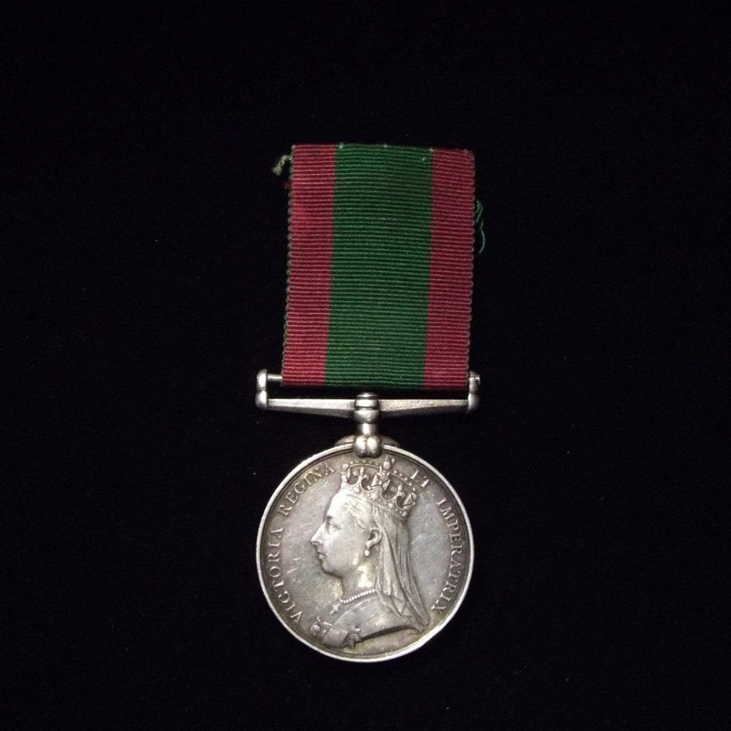 Afghanistan Medal 1878-80, awarded to Private R.Hemsworth. 2/15th Foot. - BuyMilitaryMedals.com - 1