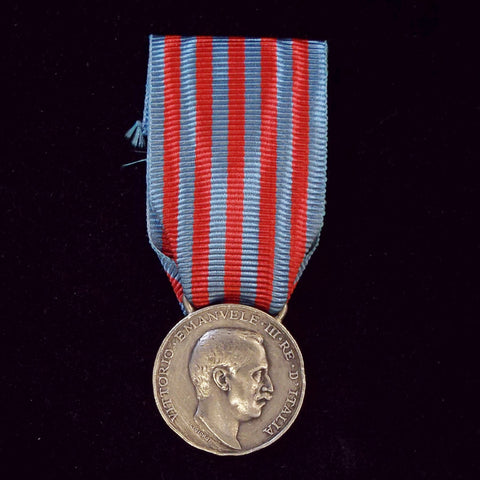 Italy Libia Medal, 1912-20, silver