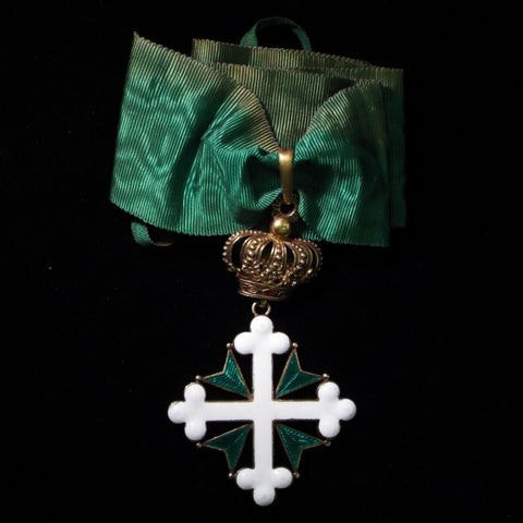 Italy, Order of Saints Maurice and Lazarus, 3rd class - BuyMilitaryMedals.com - 1