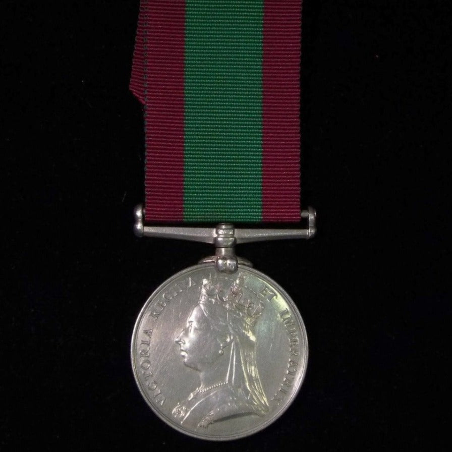 Afghanistan Medal 1878-80, awarded to Private A. Church, 2/11th Regiment