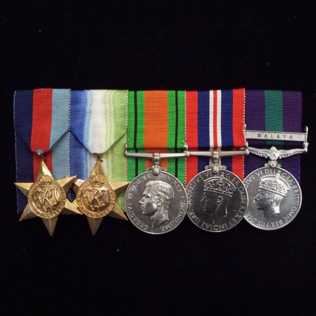 Group of 5 medals to S/Ldr. T. Hamilton Brown, Technical Branch, RAF