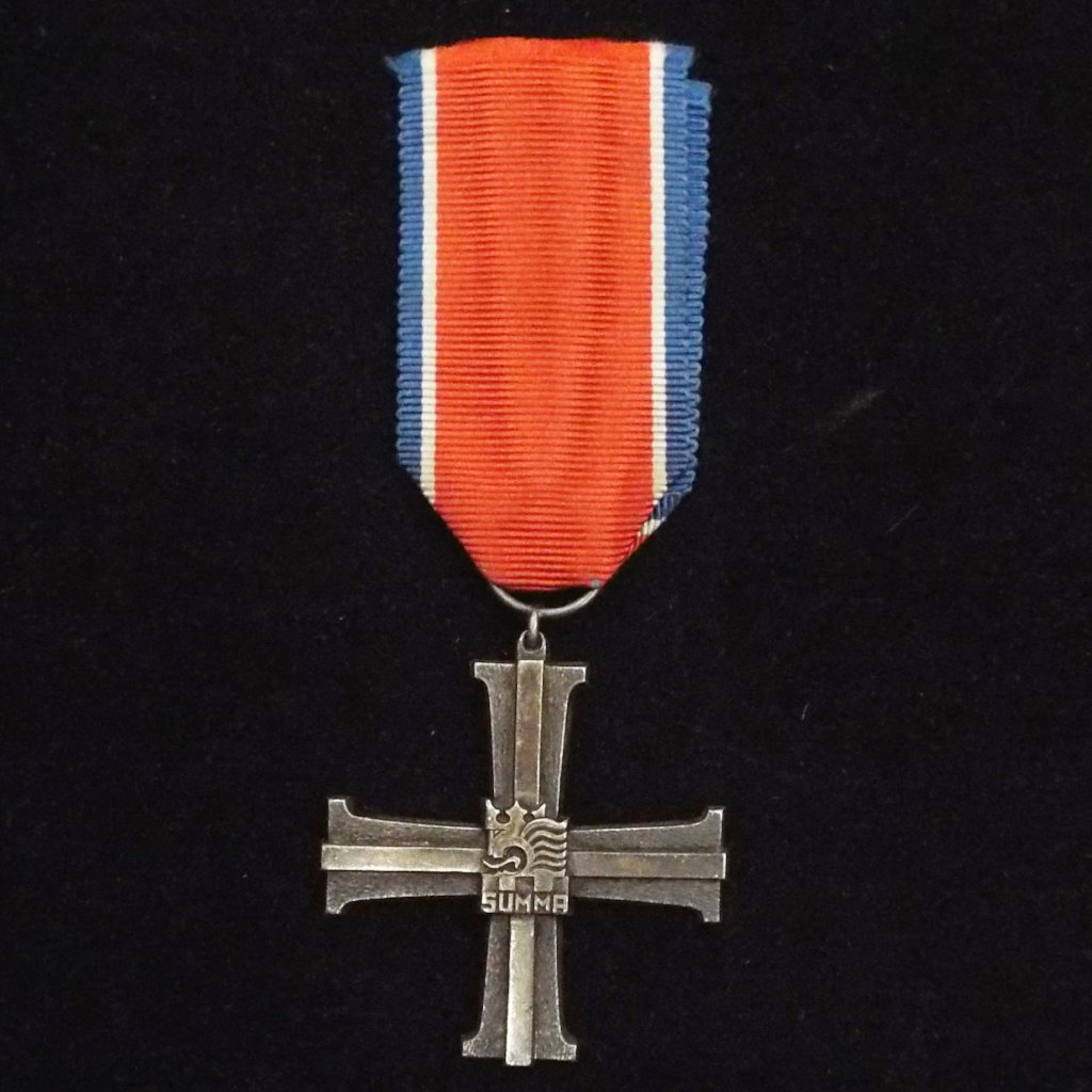 Finland Military Cross, No. 4159, WW2