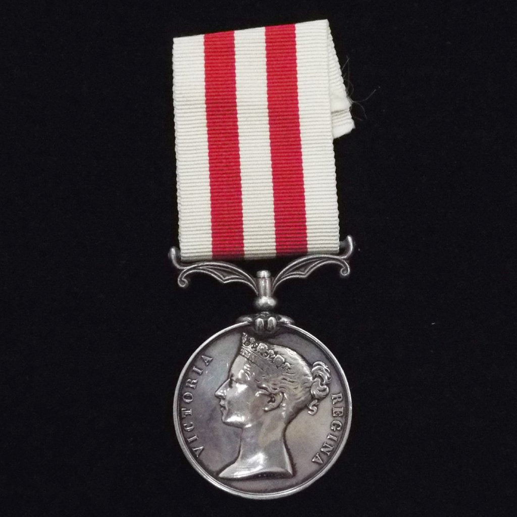 Indian Mutiny Medal to 2379 Chas. Warman, 70th Regt. Shown on roll as dead