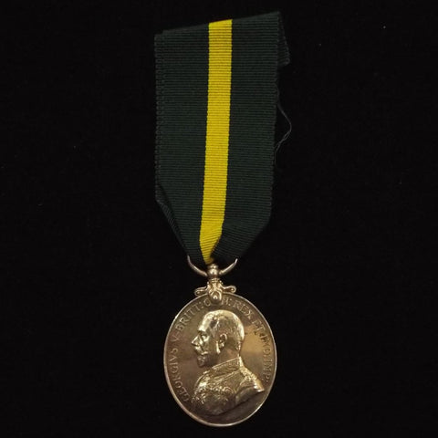 Territorial Force Efficiency Medal (GVR) to Pte. C. Lebbell, 4/R. W. Kents. (T.F.)