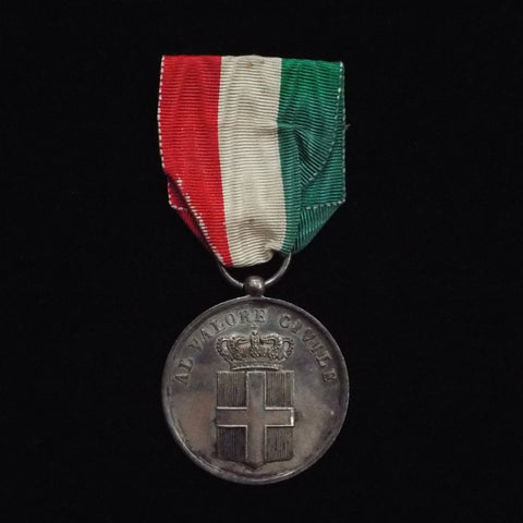 Italy, Medal for Civil Valour, 1900- 43, 3rd type