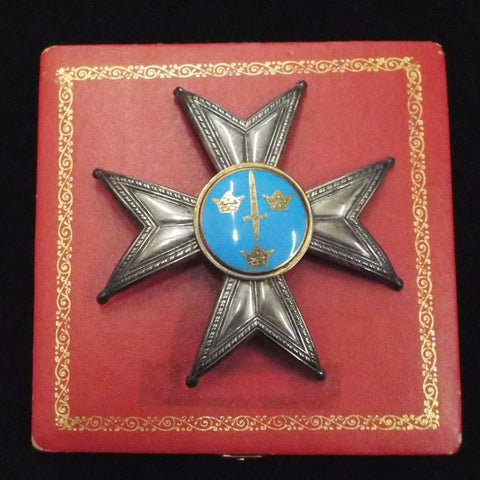Sweden Order of the Sword in box (KSO)