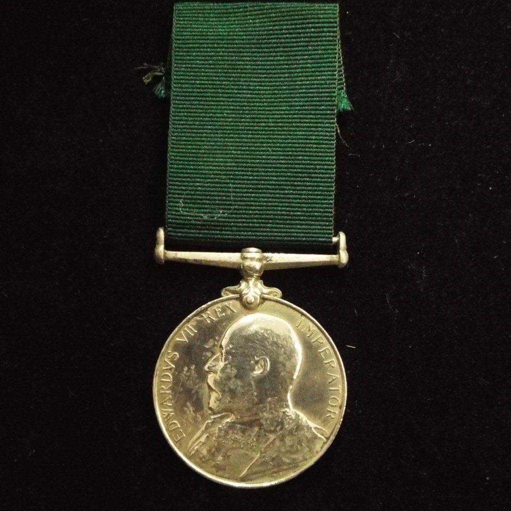 Volunteer Long Service Medal to 42547 Pte. S. Pearce, 1st Volunteer Bn., Middlesex Regt.