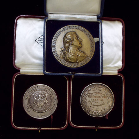 Medallions awarded to Sir Henry Osmand- Clarke, Orthopaedic Surgeon - BuyMilitaryMedals.com - 1