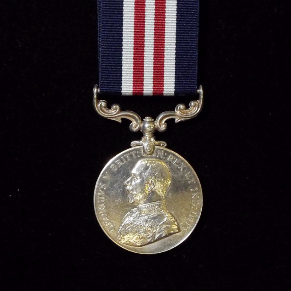 Military Medal awarded to Pte. Lcr. J. Caine, 2nd Bn., East Lancashire Regt. - BuyMilitaryMedals.com - 1