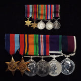 Group of 6 with miniatures to Sqdn. Ldr. D. W. J. Gooding, RAF.