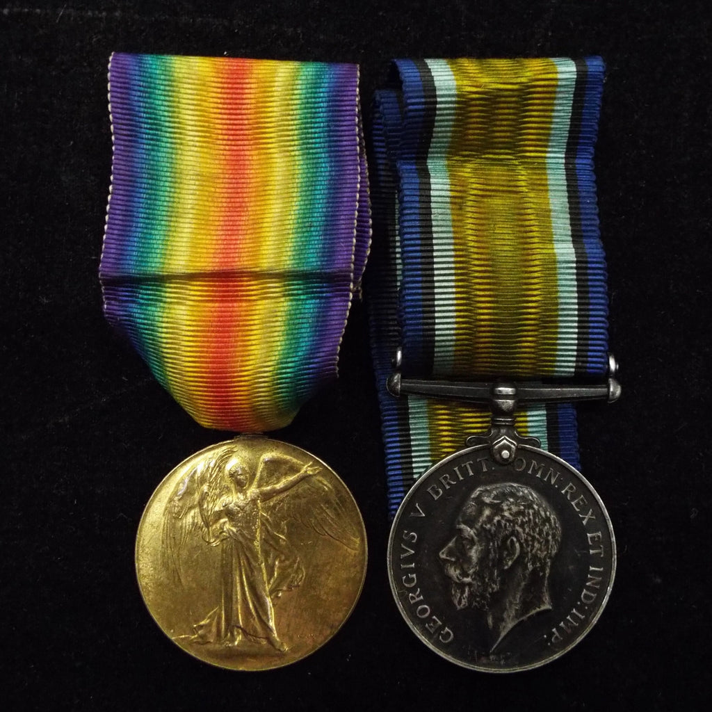 WW1 pair to 137007 Pte. Ernest Copas, Machine Gun Corps