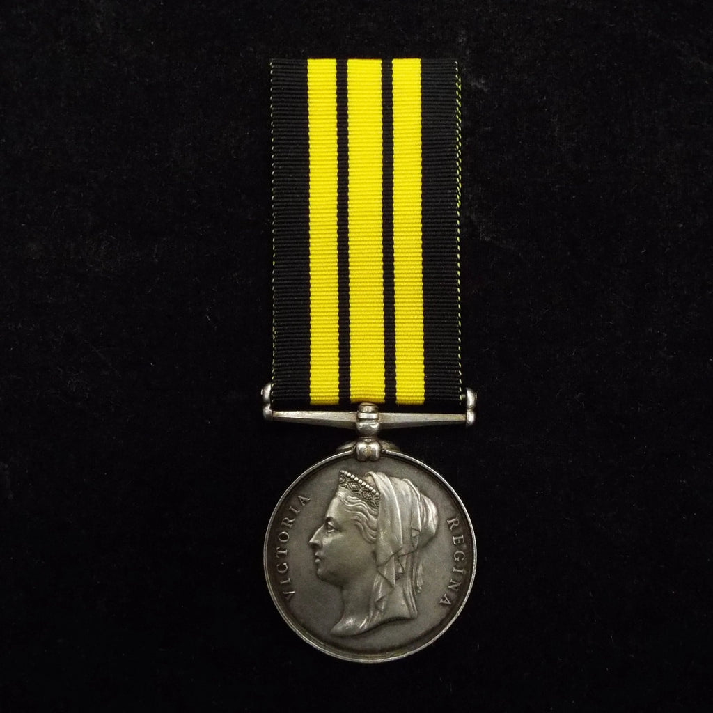 Ashantee Medal (1873-74) to Bandsman J. May, Royal Navy, HMS Rattlesnake