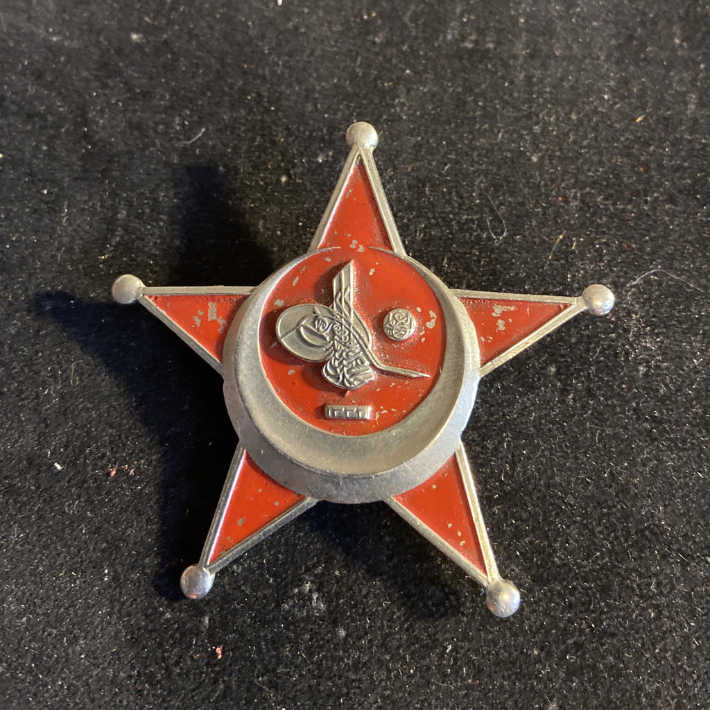 Ottoman Empire, Turkish War Medal (Gallipoli Star), 1915, wartime issue, painted type