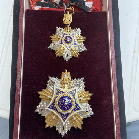 Egypt, Order of National Merit, Grand Cross set