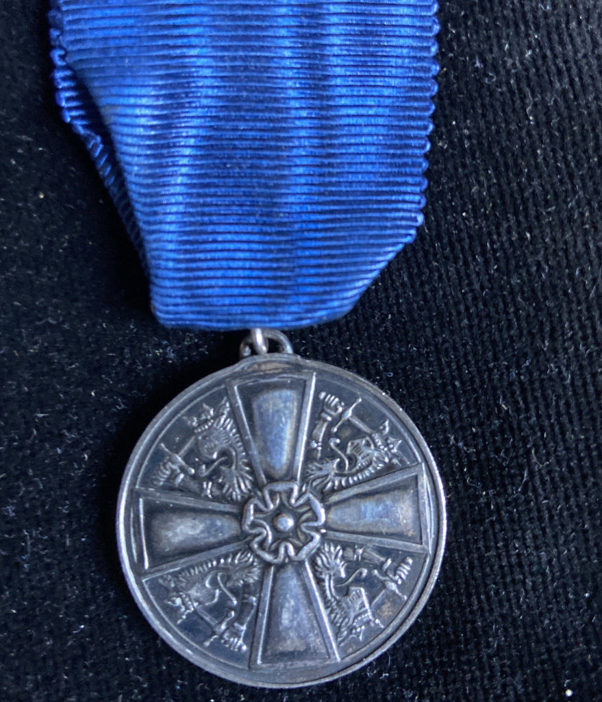 Finland, Order of the White Rose Medal, silver grade