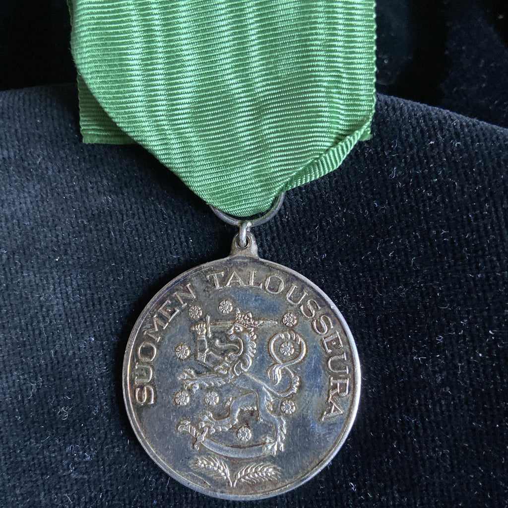 Finland, Civil Medal of Merit, large, silver