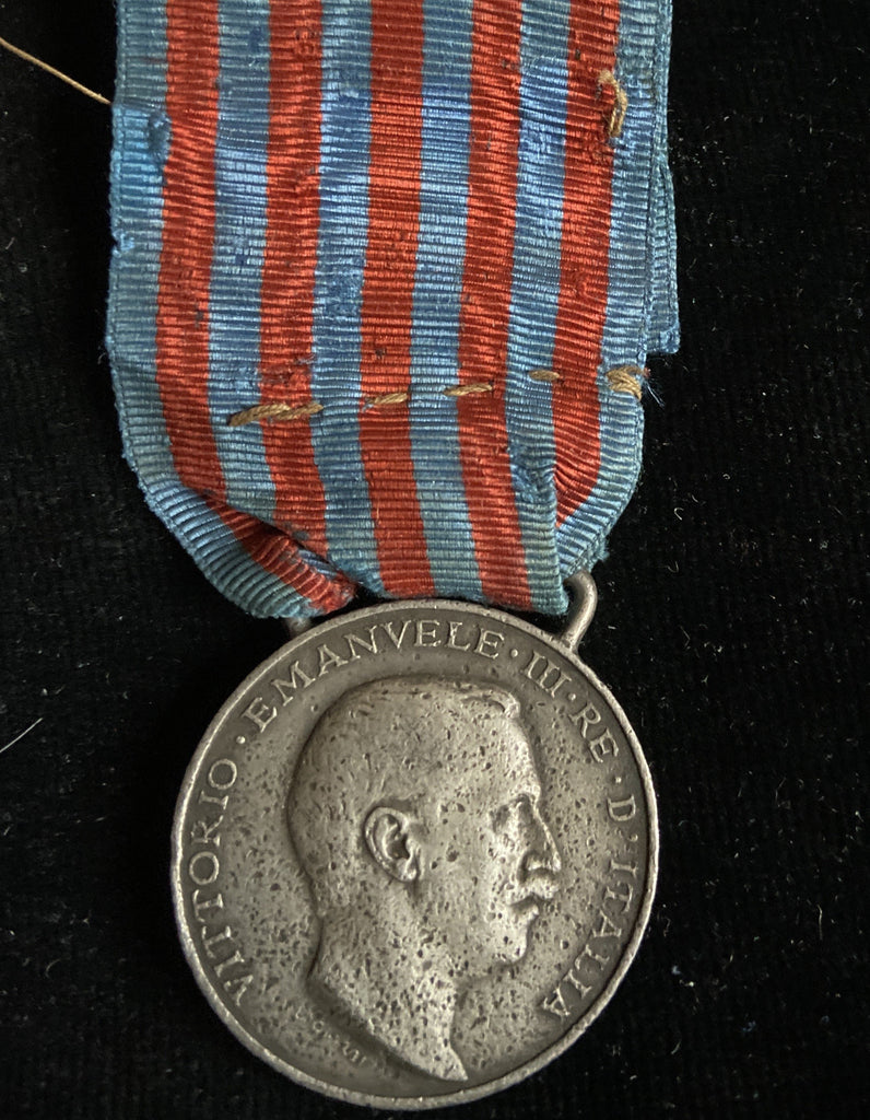Italy, Italo-Turkish War Medal, 1911-12, silver