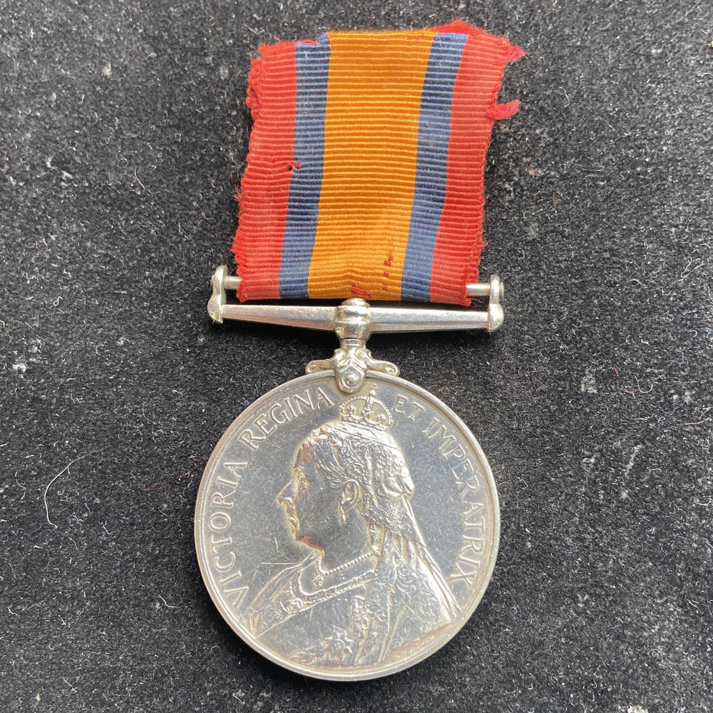 Queen's South Africa Medal to Lieutenant Charles Henry Stilwell, Queens Town D.M. Troops, served WW2 as a Major in 3 Wilts. Regt., A.R.P.