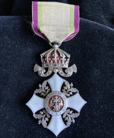 Bulgaria, Order of Civil Merit, knight's badge, a nice example