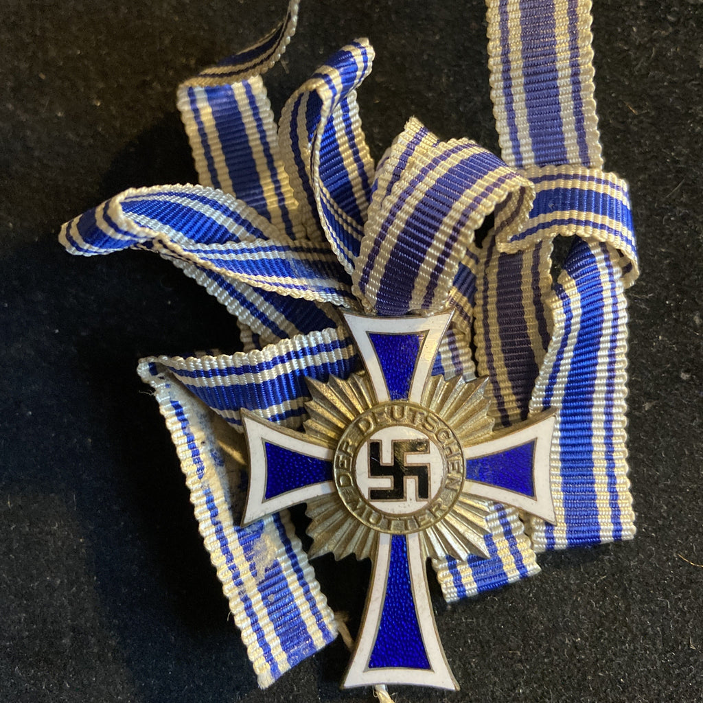 Nazi Germany, Mother's Cross, 2nd class, with full ribbon