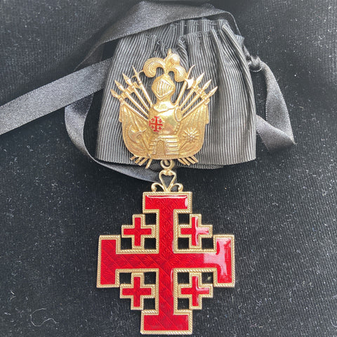 Order of the Holy Sepulchre, 3rd class, silver-gilt, a nice example