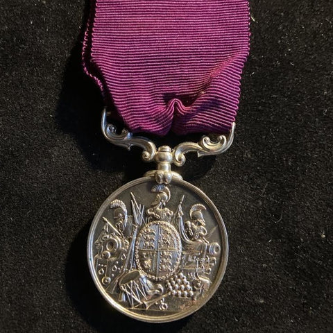Army Long Service & Good Conduct Medal to 963 Cr. Sergeant W. Ruffles, Manchester Regiment