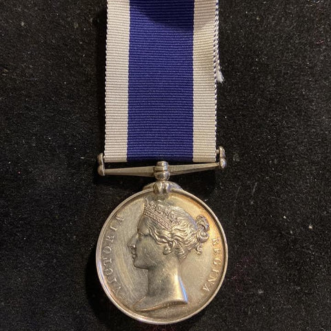 Victorian Naval Long Service & Good Conduct Medal to Chief Boatman in Charge John Williams, H.M. Coast Guard