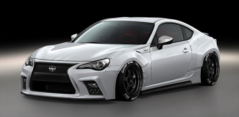 Aimgain Wide Front Fender (+30mm) - 2013+ Subaru BRZ/Scion FR-S/Toyota GT86