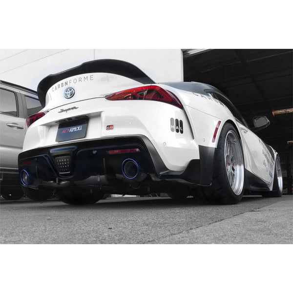 A'PEX-i N1-X Evolution Extreme Muffler (Non-Resonated) - 2020+ Toyota GR Supra (A90)